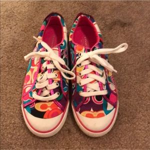 Coach Sneakers! Size 6.5
